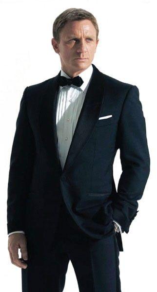 James bond Dinner tuxedo