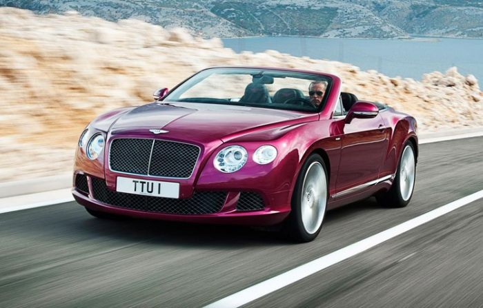 bentley convertable