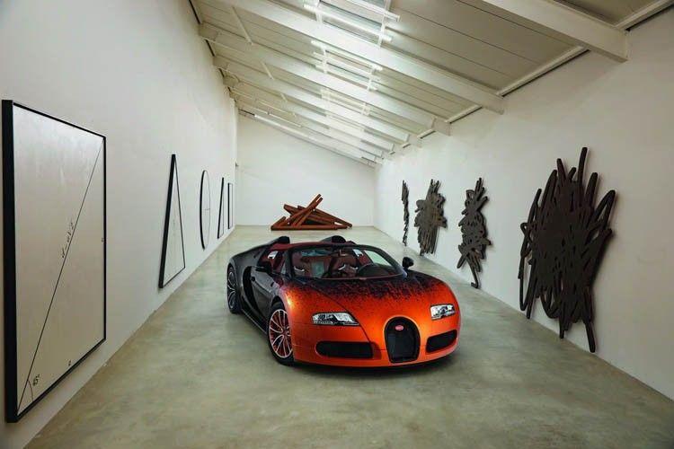 bugatti art veyron