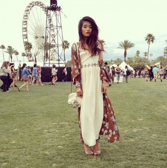 Olivia Lopez at Coachella