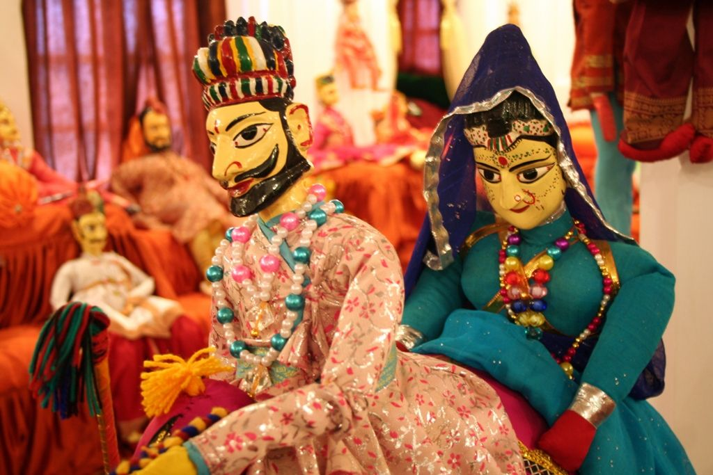 Indian Culture and Tourism - Puppets Show