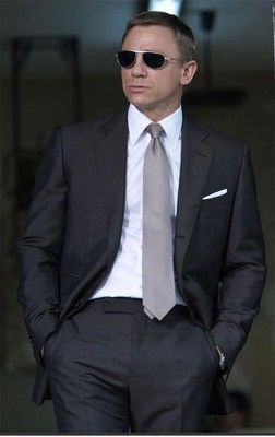 James Bond Suit with Quality Fabric