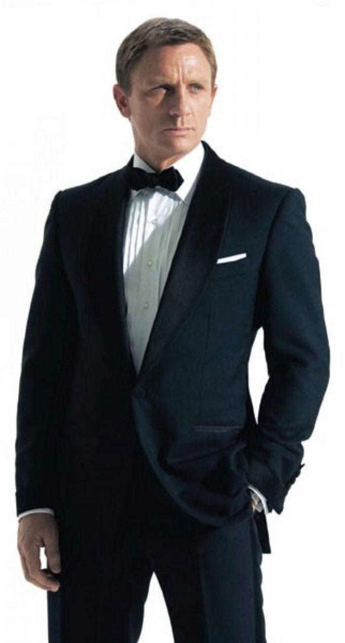 James Bond Navy Blue Tuxedo for Dinner