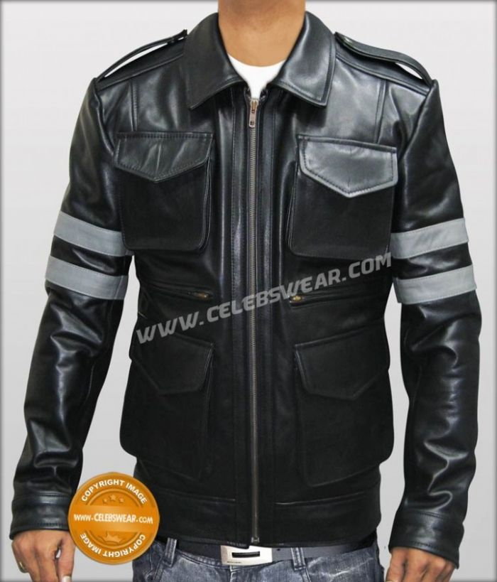Resident Evil 6 Leather Jacket