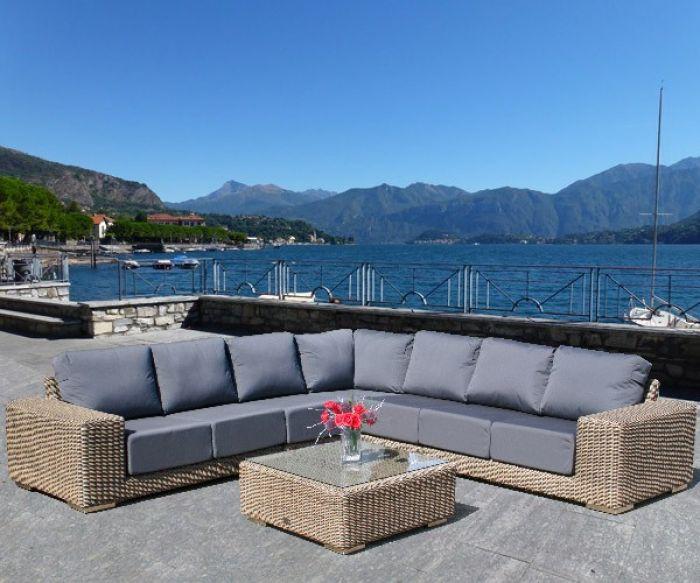 Luxurious rattan furniture