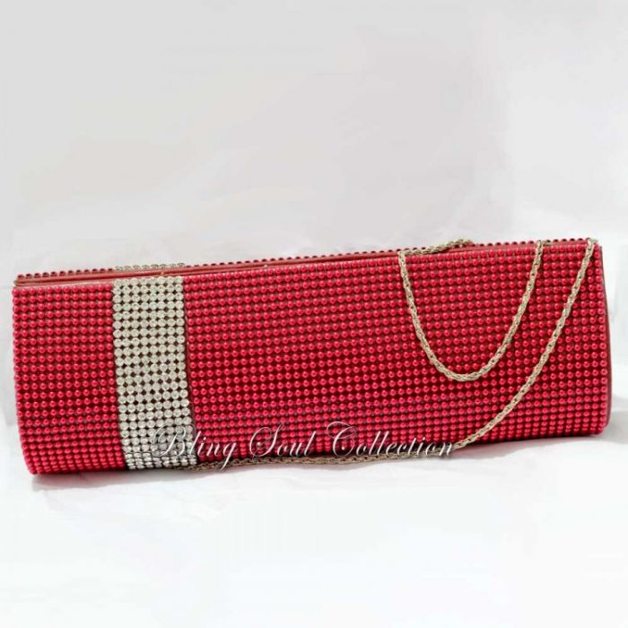 Red Party CLutch