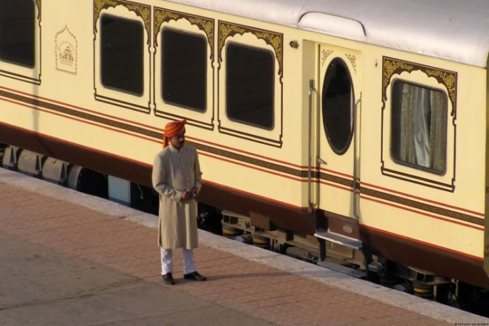 Journey on Palace on Wheels