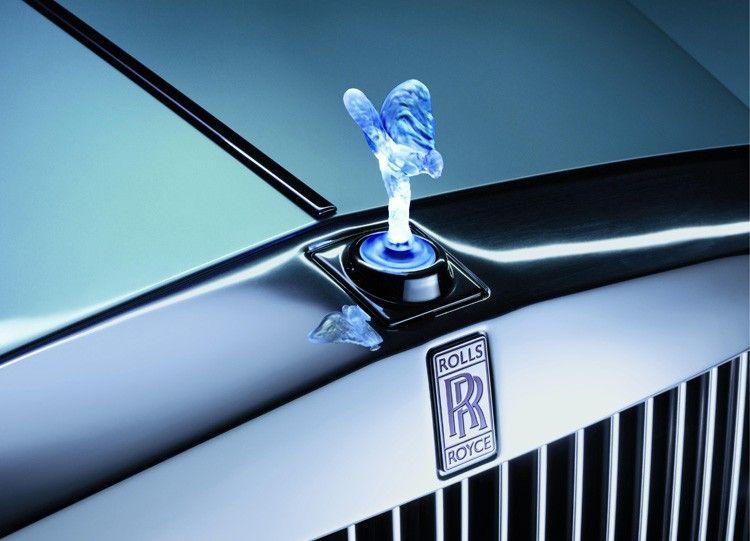 Rolls-Royce mascot