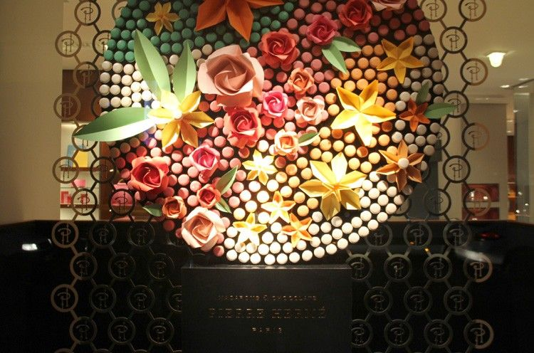 Pierre Herme's Macaroons Installation by Herm�s