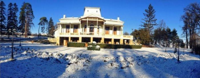 Winter at manor
