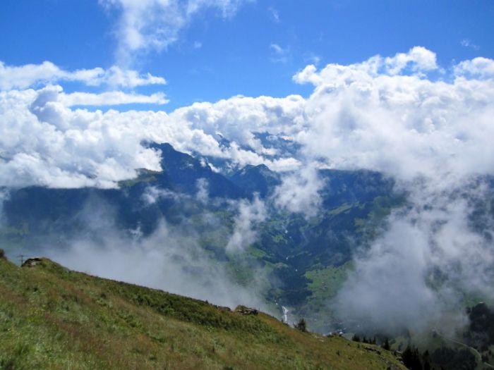 View from Niesen Alps