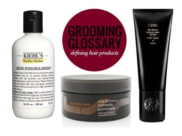 grooming glossary