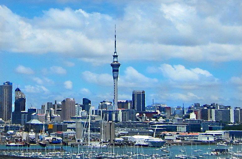 Auckland, New Zealand Stunning Skyline