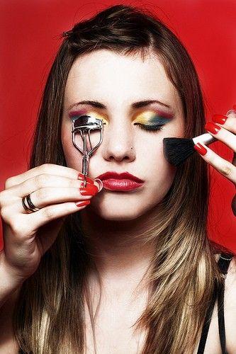 Model make-up: tips and tricks