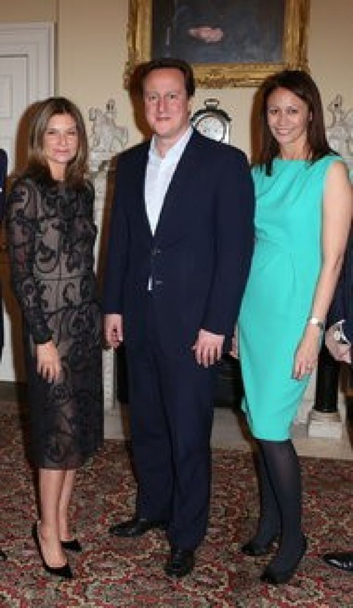 Natalie Massenet on left