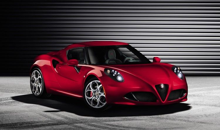 4C Sportscar alfa romeo