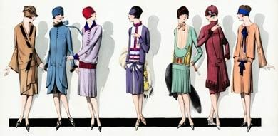 1920s fashion style