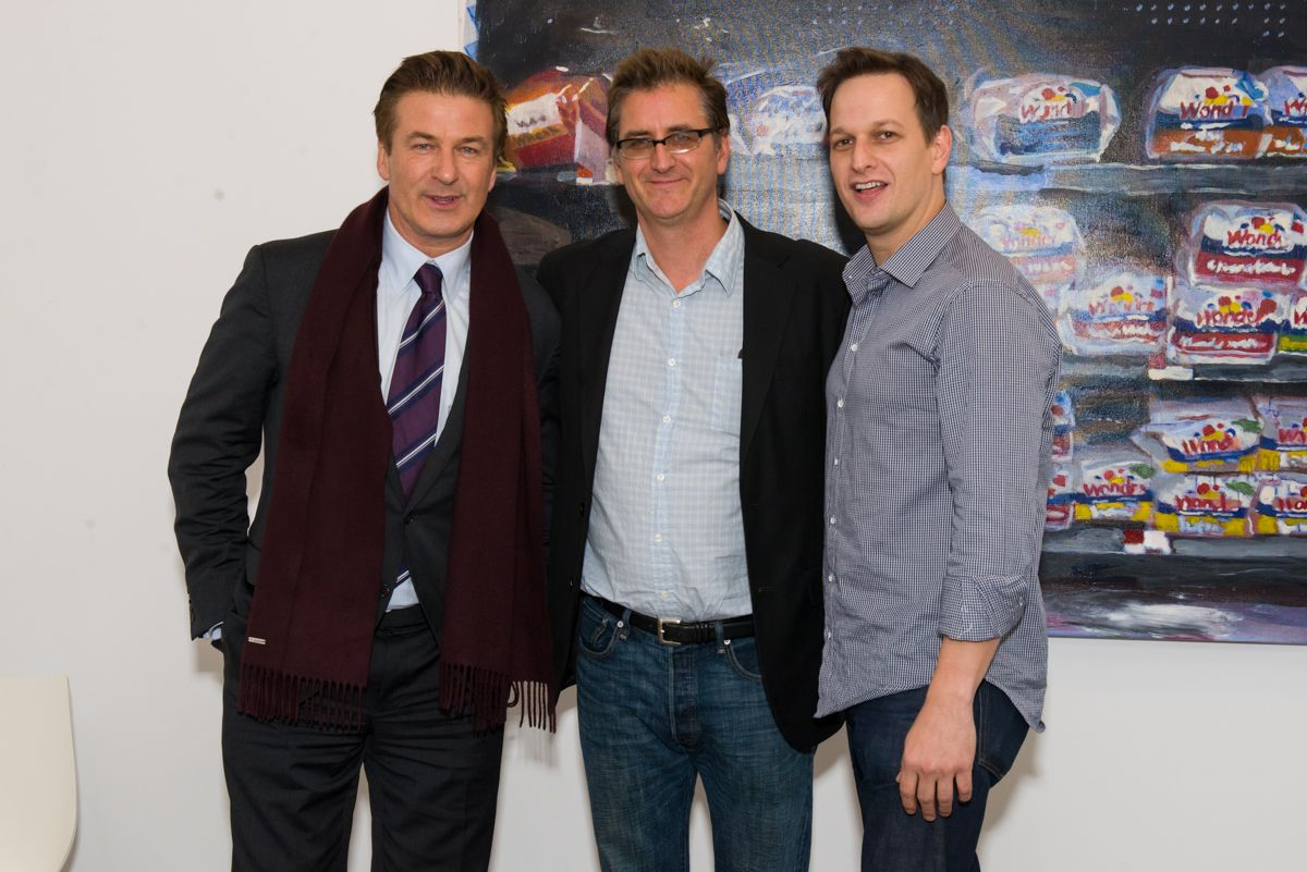 Brendan O'Connell, Alec Baldwin and Josh Charles