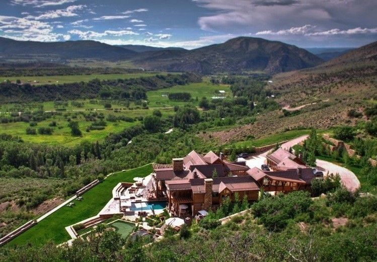 Four Peaks Ranch in Aspen, listed at $75 million