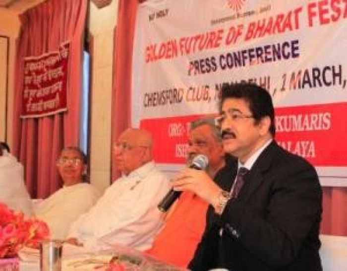 Sandeep Marwah At Brahma Kumaris Press Conference