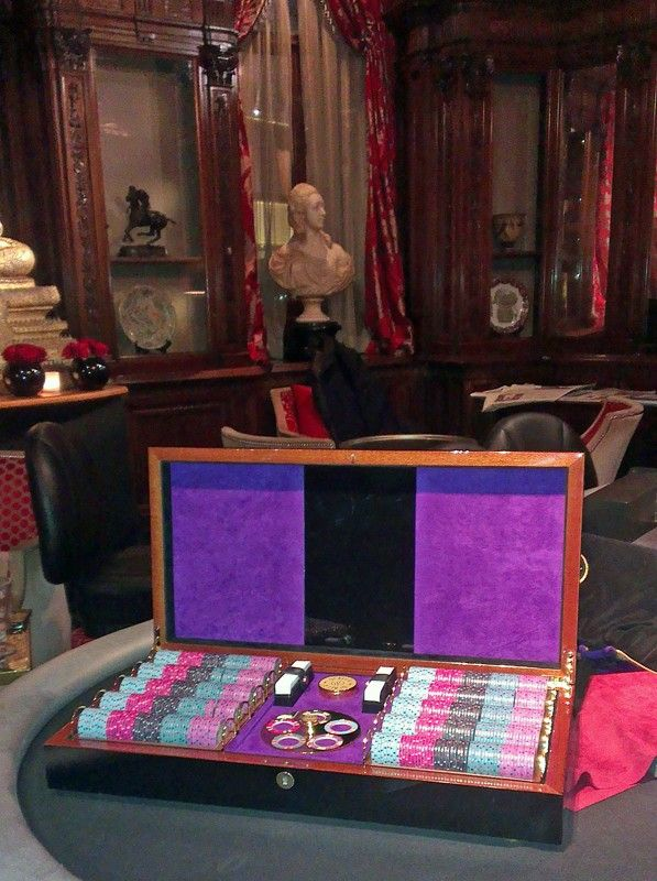 Luxury Poker Box at Les Ambassadeurs