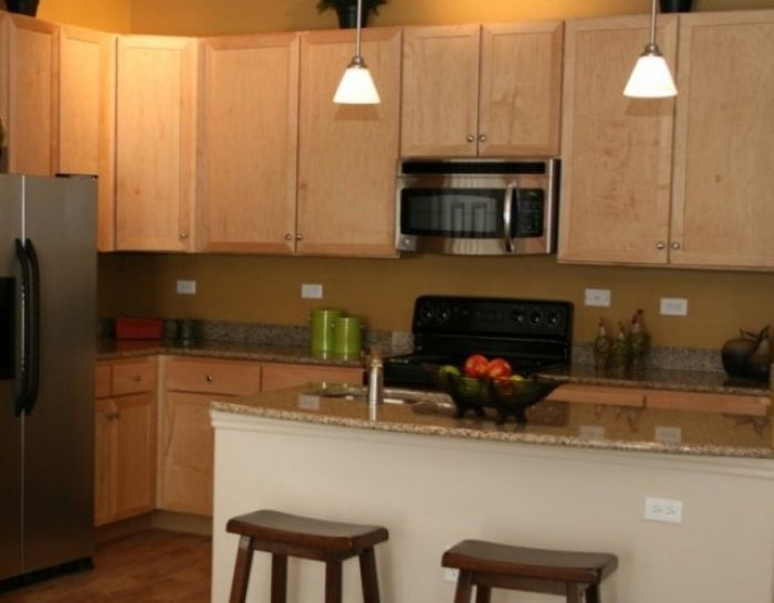 Corporate Housing Kitchen