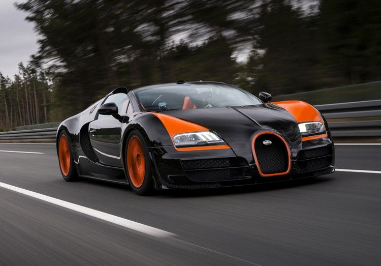 Bugatti Marks World Record with Special Veyron Vitesse