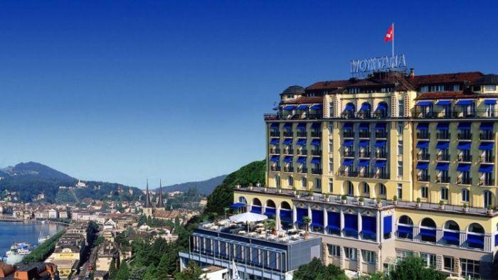 Hotel Montana Overlooking lake Lucerne
