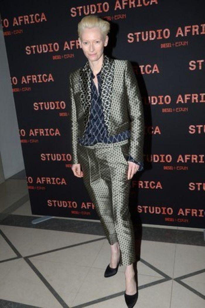 Tilda Swinton as Bowie