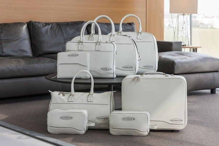 Pershing Yachts Launches Line of Leather Luggage with Poltrona