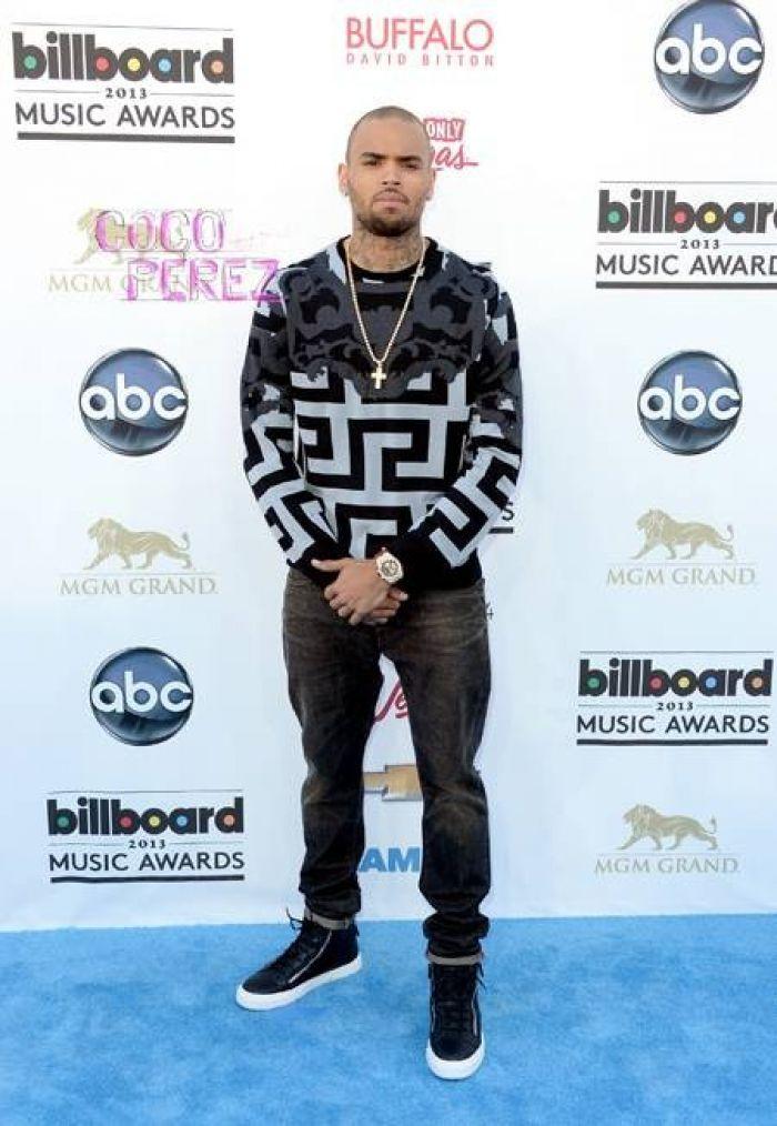 Chris Brown at the BBMAs