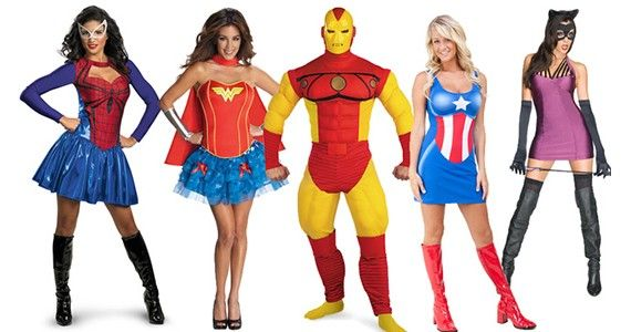 super hero costumes