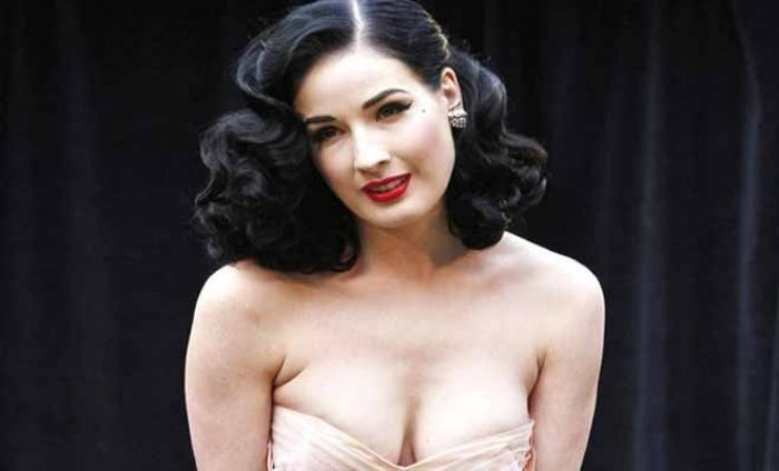 Dita Von Teese Opens Up About Makeup