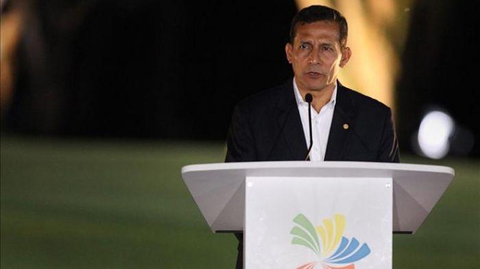 President of Peru Ollanta Humala