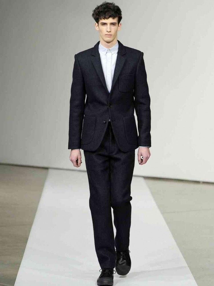 Tieless At New York Fashion Week