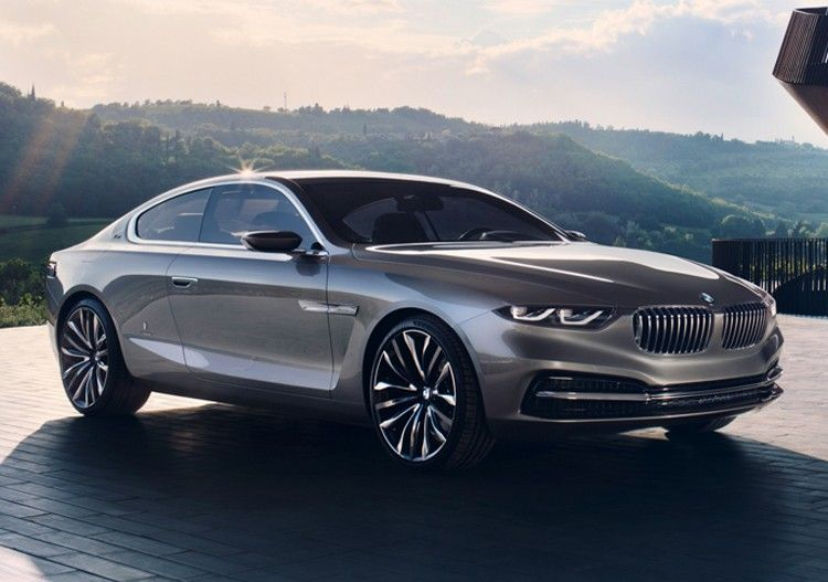 BMW and Pininfarina Collaborate on Gran Lusso Coupe Concept