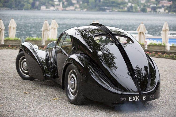 Ralph Lauren's 1938 Bugatti Atlantic Lauded at Villa d'Este