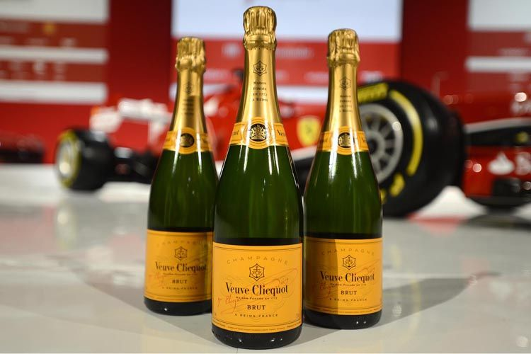 Veuve Clicquot Partners with Ferrari