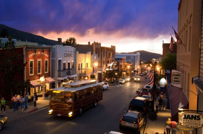Main Street Park City. Photo courtesy of the Park City Chamber