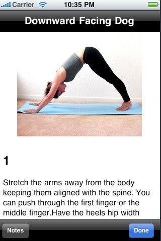 Yoga app