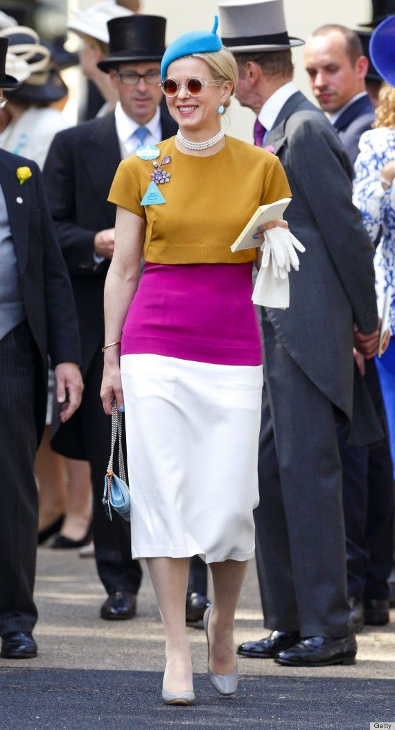 Lady Taylor's Garish Dress