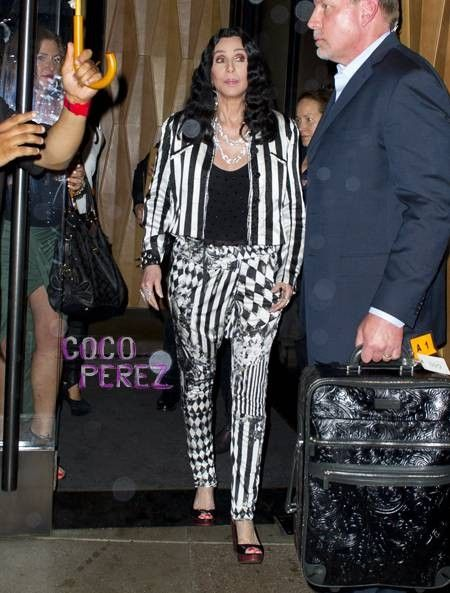 Cher's Mishap