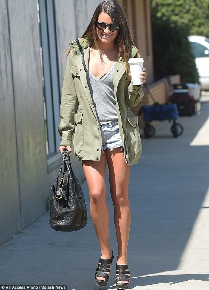 Lea Michele's Casual Blockbuster