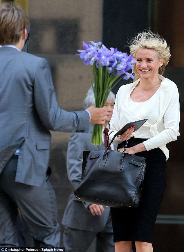 Cameron Diaz's Living Hair