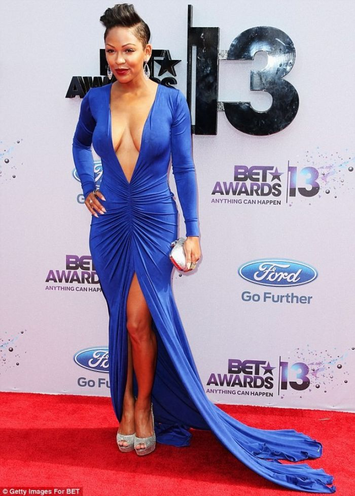 Meagan Good's Risque Ensemble