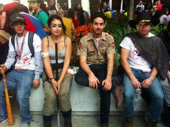 Walking Dead cosplay cast