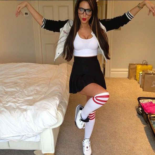 Tulisa Contostavios' Ghetto Geek Look