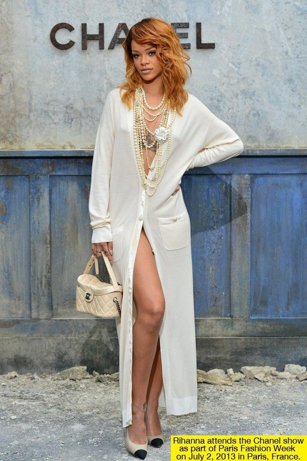 Rihanna's Risque Chanel Show Appearance