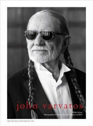 Willie Nelson for John Varvatos