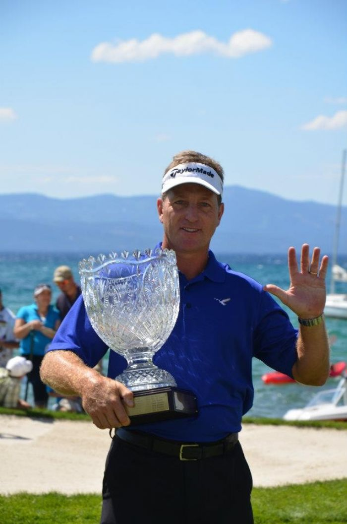 Dan Quinn 2012 American Century Championship Winner